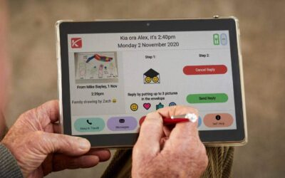 stuff.co.nz – New no typing tablet to keep senior family members 'in the loop' every day